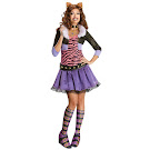 Monster High Rubie's Clawdeen Wolf Outfit Adult Costume