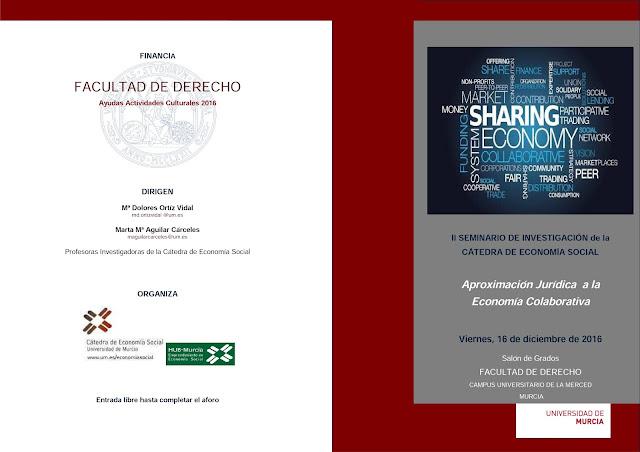 II Seminario de investigación de la cátedra de economía social.