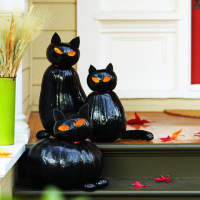 Black Cat Kitchen Clock