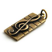 подарки в виде скрипичного ключа  подвеска в виде скрипичного ключа обереги талисманы оптом