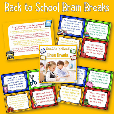 Six Freebies for Back to School - This includes parent communication, brain breaks, Science, Social Studies, literacy, and math freebies for second grade.