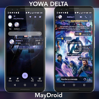 Avengers Endgame Theme For YOWhatsApp & Fouad WhatsApp By MayDroid