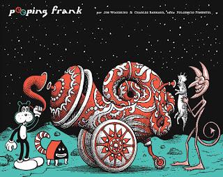 PEEPING FRANK  Comic Undeground de Jim Woodring y Charles Barnard