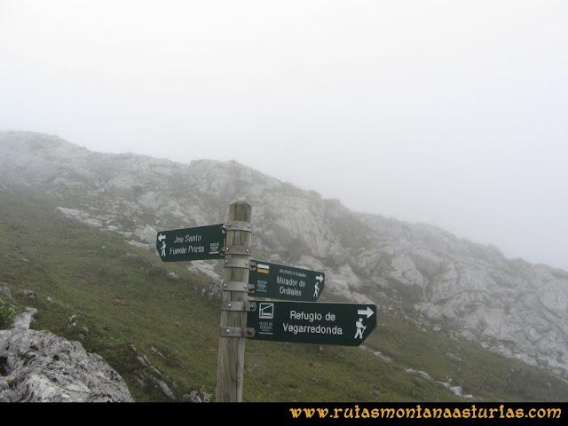 Mirador de Ordiales y Cotalba: Cruce de caminos