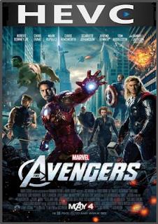 The Avengers 2012 Dual Audio 175MB BRRip HEVC Mobile
