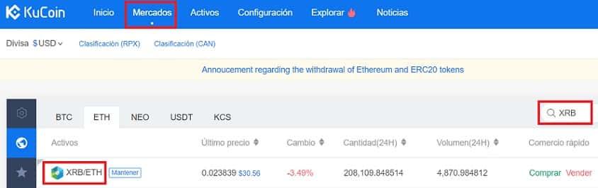 comprar raiblocks con ethereum bitcoin euros o dolares