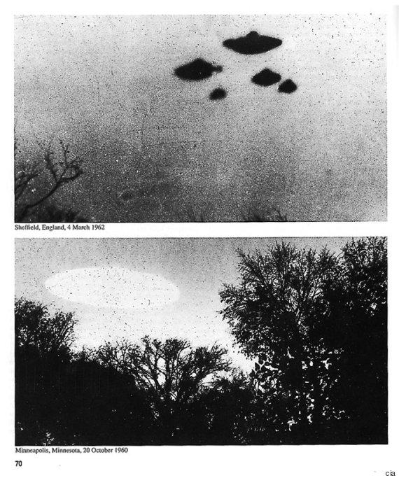Los documentos OVNI liberados por la CIA, se remontan a finales de los años 1940 y 1950 e incluyen informes de avistamientos en la Alemania Oriental, España y el norte de África.