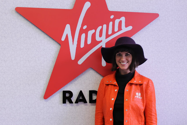 Dawn O'Porter at Virgin Radio Breakfast Show