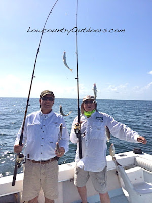 Lowcountry outdoors: Offshore Fishing in the Gulf off ...