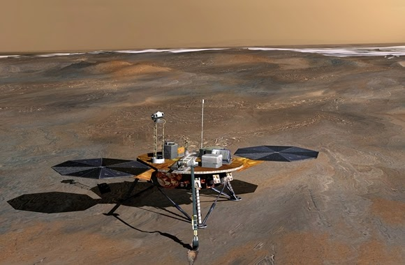 Mapping Mars, Missing Ice