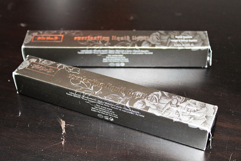 Kat Von D Packaging