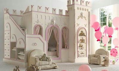 ห้องนอนเด็กทรงปราสาทสวยๆ