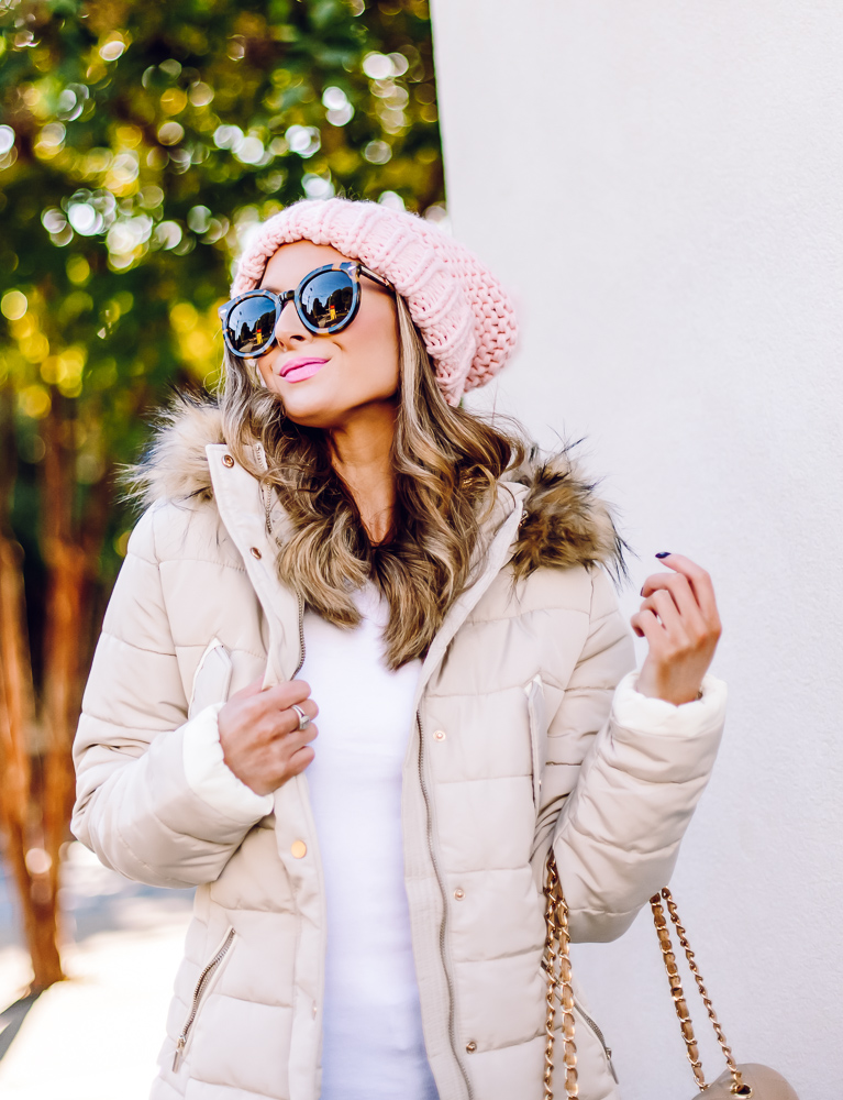 free people blush skyline beanie