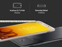 Smartphone Terbaru Samsung Galaxy On Max, Sematkan Flagship Camera