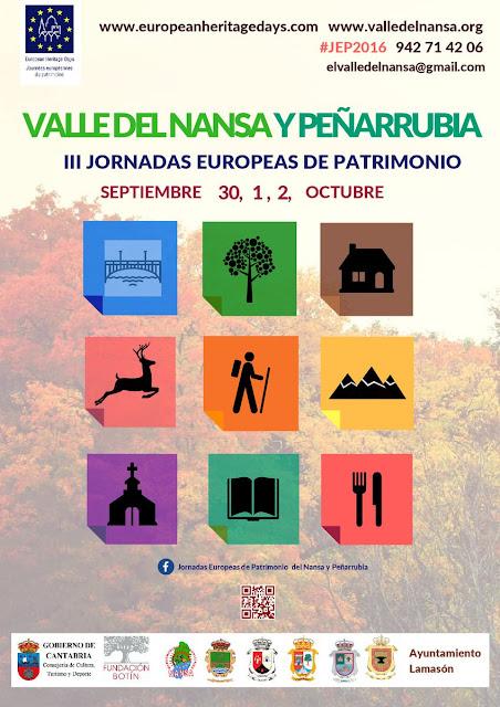 III Jornadas Europeas de Patrimonio Valle del Nansa y Pe�arrubia