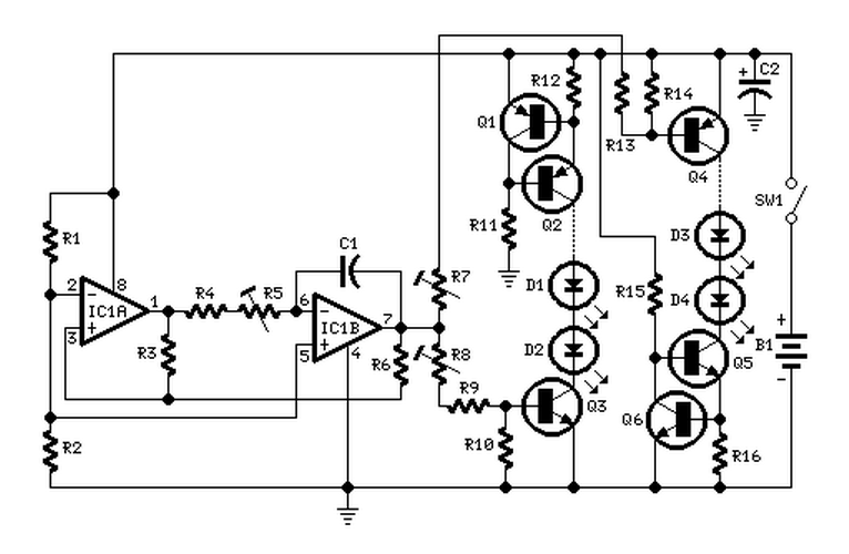 connecting multiple leds to a circuit