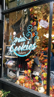 Milk & Cookies store, Greenwich Village, NYC.