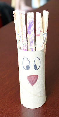 Toilet Paper Tube Alphabet Crafts