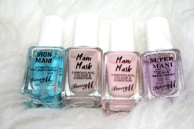 New Nail Care Range - Barry M