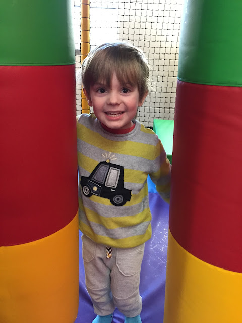 Bert at Soft Play at John Bunyan Sports and Fitness, Bedford