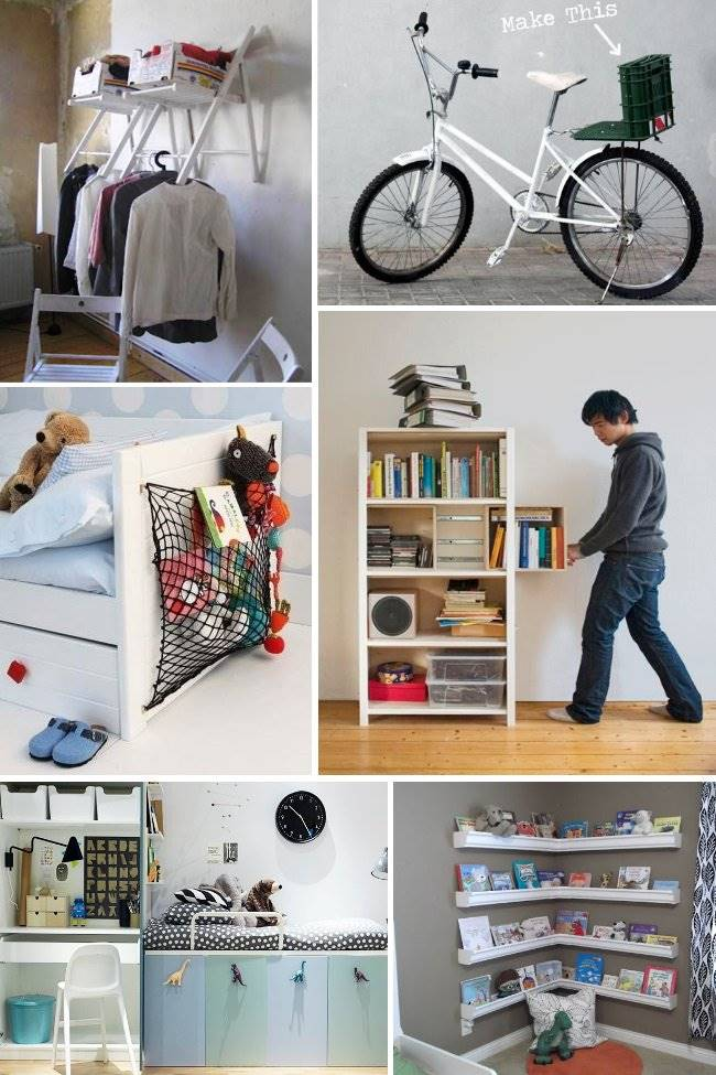27 Genius Small Space Organization Ideas HANDY DIY