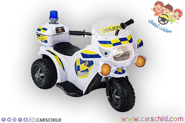 دراجة اطفال شرطة صغيرة