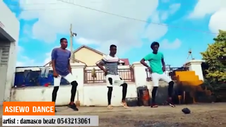 Afro beat dance by allo dances with Asieho song of DAMASCO B