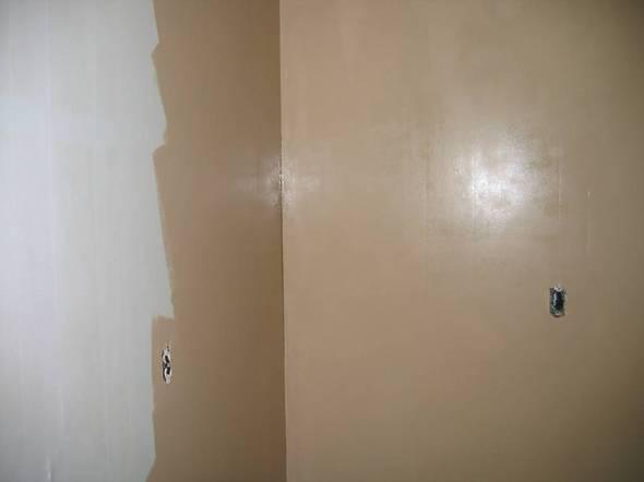 Casei quero casa pintando a sala toda - Eggshell vs satin paint ...