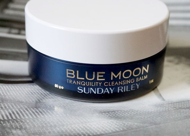 Sunday Riley Blue Moon Tranquility Cleansing Balm (bellanoirbeauty.com)