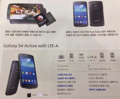Samsung Galaxy S4 Active LTE-A price and availability