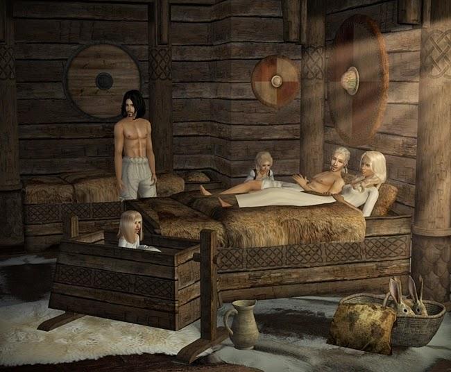 the medieval smithy sims 2 celtic bedroom. Black Bedroom Furniture Sets. Home Design Ideas