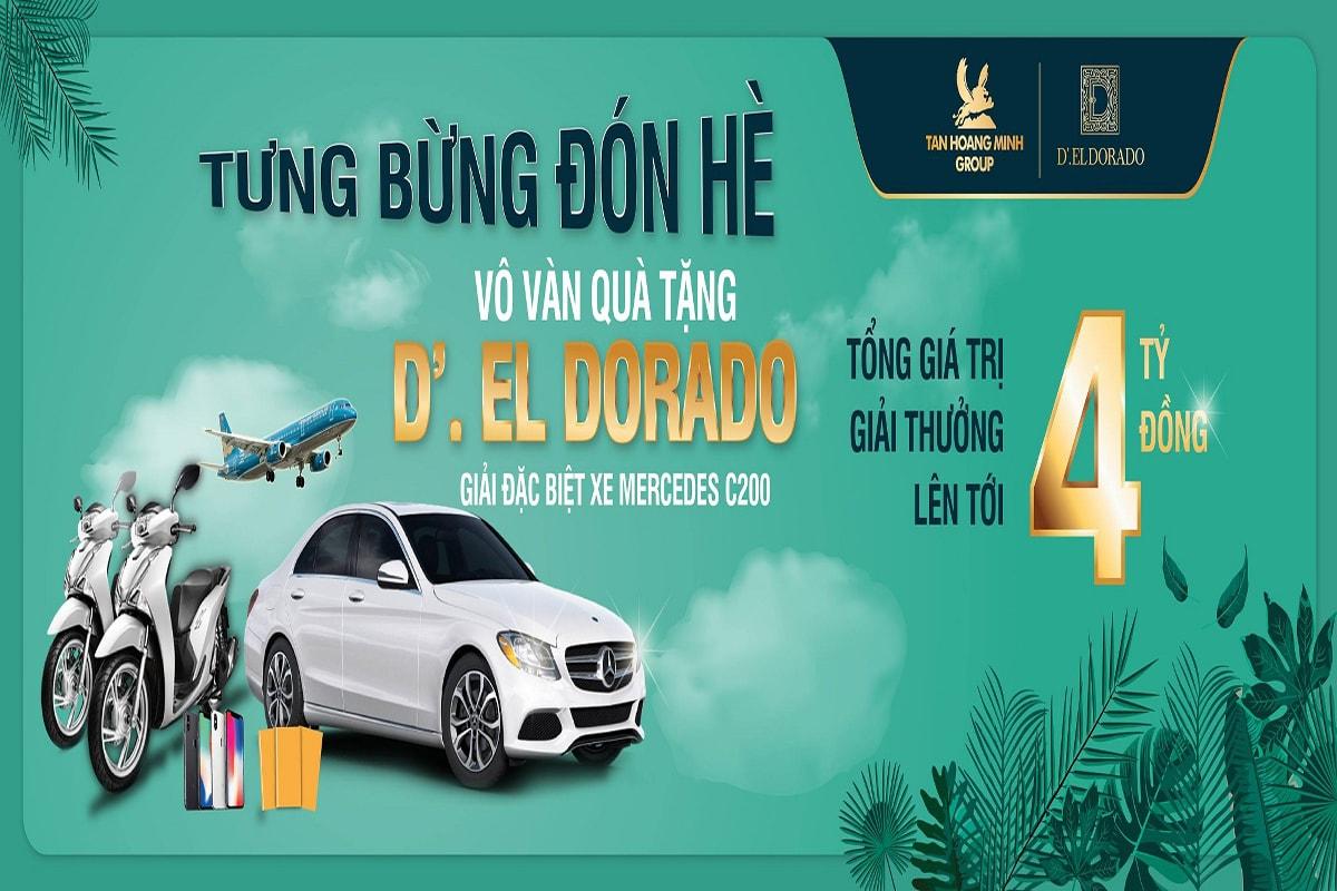 Qùa mua dự án D'. El Dorado Phú Thanh