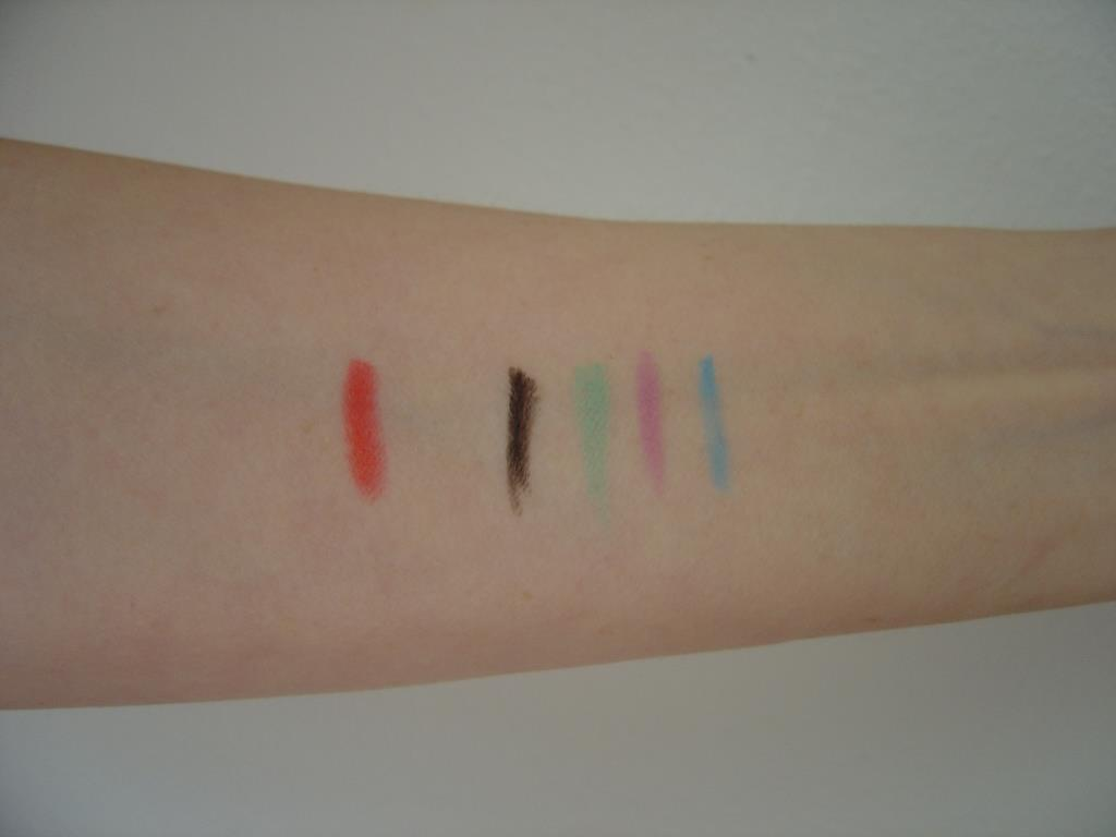 Touch in SOL Style Neon Eyeliner & One Second Lip Crayon swatches.jpeg