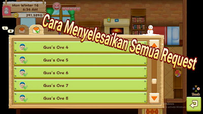 Cara Menyelesaikan Request Harvest Moon: Light of Hope