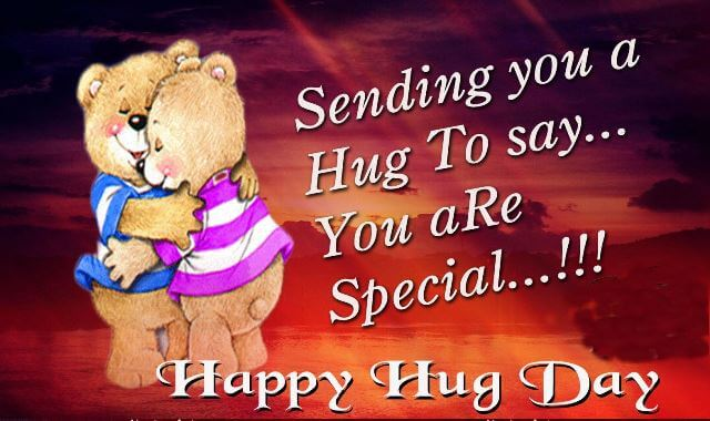 happy hug Day 2017 picture
