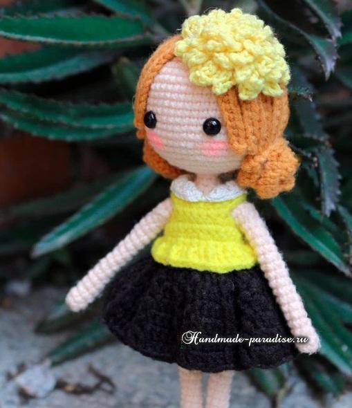 Подружки. Куколки амигуруми крючком (3)