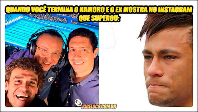 Imagens zuando Galvão Bueno