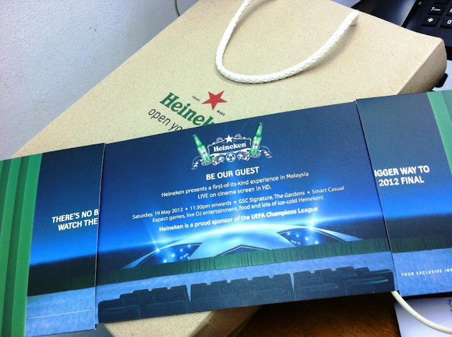 Heineken A Legendary Night - Tickets Giveaway