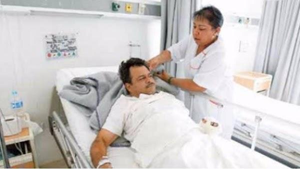 Maestro perdió dos dedos y se fracturó columna al intentar salvar a alumna durante sismo