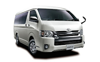 Sewa Kereta Toyota Hiace (Manual)