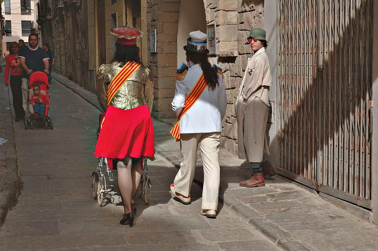 Costumes in Monistrol de Montserrat