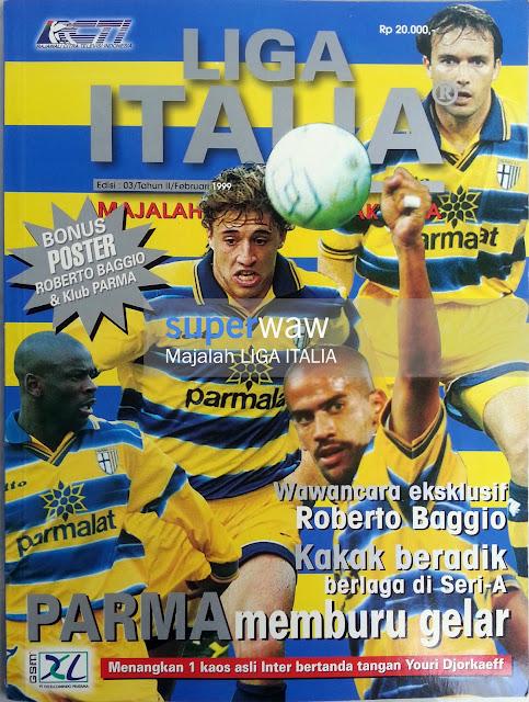 Majalah Liga Italia (PARMA memburu gelar)