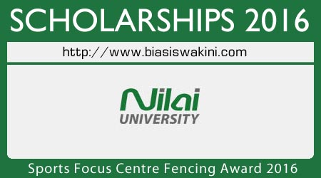 Nilai University Sports Focus Centre Fencing Award 2016