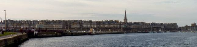 Casco antiguo de Saint Malo.