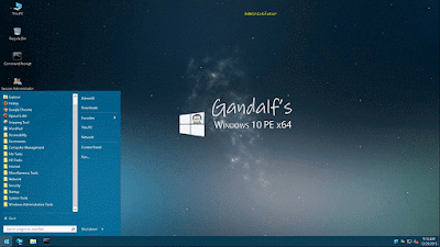 Gandalf's Windows 10PE x86/x64
