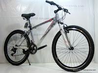 B 26 Inch Pacific Masseroni 2.0 Alloy Frame Mountain Bike