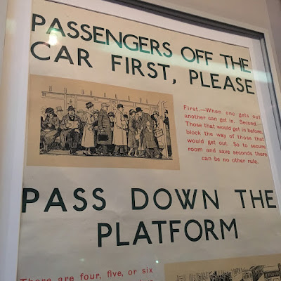 Poster at the London Transport Museum