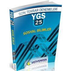 Güvender YGS 25x40 Sosyal Bilimler Son Tekrar Denemeleri