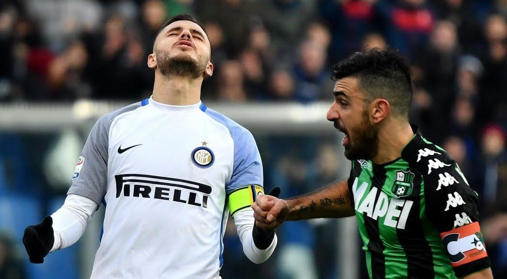 Diretta Sassuolo Inter Streaming Rojadirecta, dove vedere la partita in TV e in internet Oggi 19 agosto 2018.