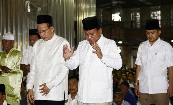 Prabowo: Saya Elit yang Tobat